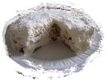 Бисквитена торта със заквасена сметана
