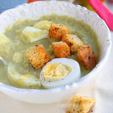 Крем супа от брюкселско зеле