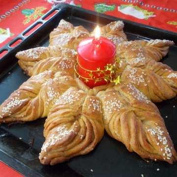 Новогодишна питка - венец