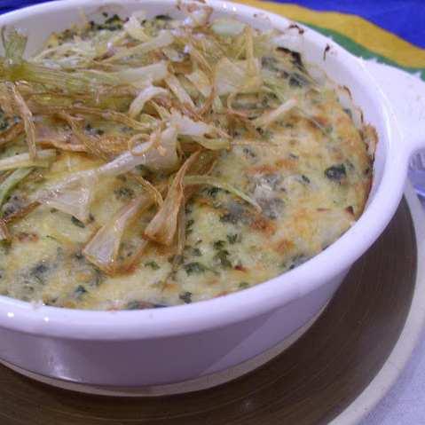 Запеканка с тиквички и картофи